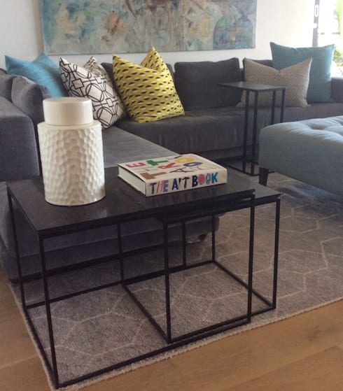 modern Living room by MINIM INTERIOR DESIGN