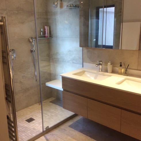 modern Bathroom by MINIM INTERIOR DESIGN