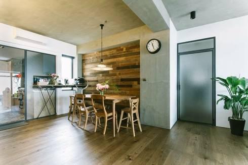 kingsford gardens: minimalistic Dining room by Ash studio