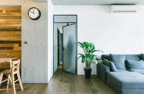 kingsford gardens:  Corridor & hallway by Ash studio