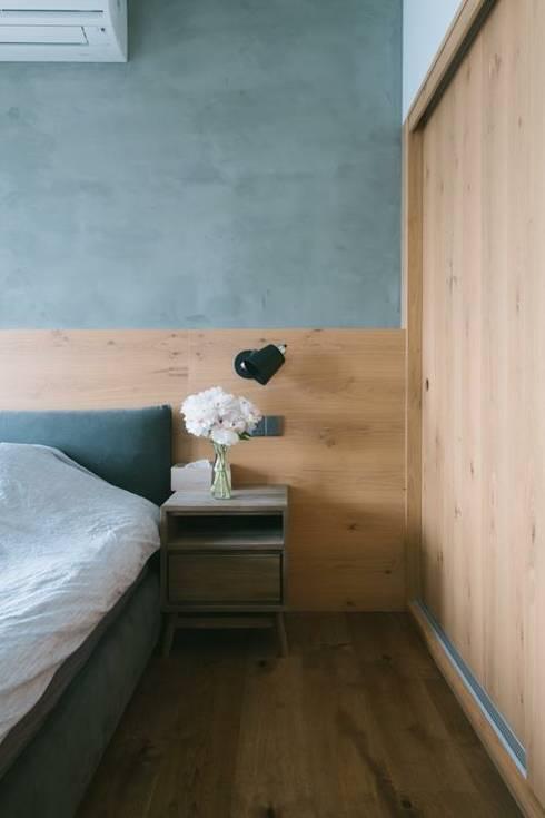 kingsford gardens: minimalistic Bedroom by Ash studio