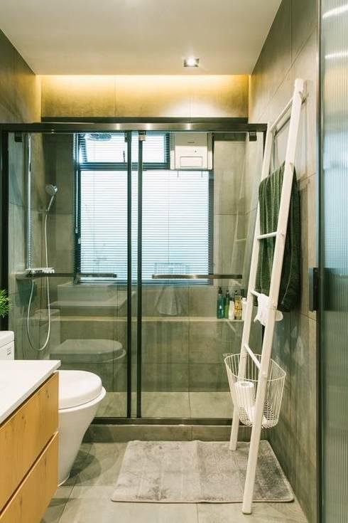 kingsford gardens: minimalistic Bathroom by Ash studio