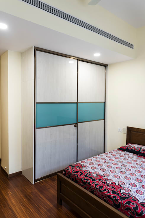 Anna varghese: modern Bedroom by Designasm Studio