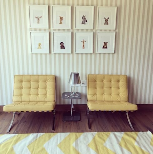 Baby room by Mayúscula Arquitectos