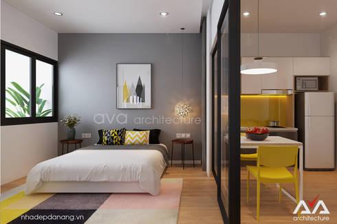 Thiết kế căn hộ Đà Nẵng:   by AVA Architecture