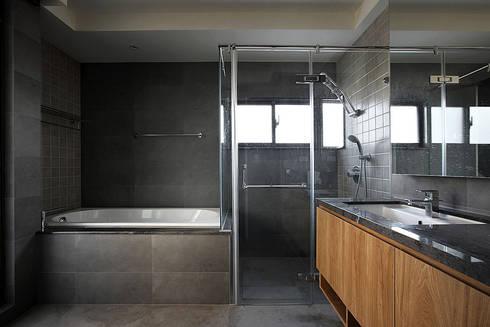 建築與詩小檔:  浴室 by 築采設計 - Leve Interior Architects