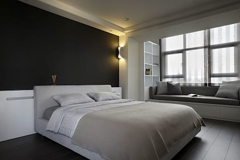 建築與詩小檔:  臥室 by 築采設計 - Leve Interior Architects