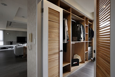 建築與詩小檔:  書房/辦公室 by 築采設計 - Leve Interior Architects