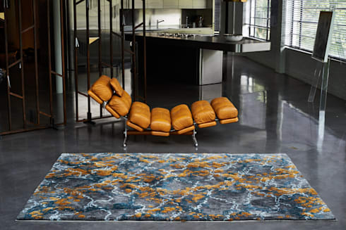IVY MIMOSA:  Walls & flooring by STEPEVI - Rug & Carpet Refined Luxury