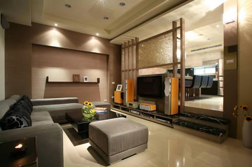新竹劉先生:   by 築采設計 - Leve Interior Architects