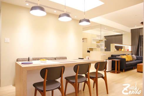 北歐‧小清新:  餐廳 by Zendo 深度空間設計