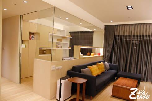 北歐‧小清新:  書房/辦公室 by Zendo 深度空間設計