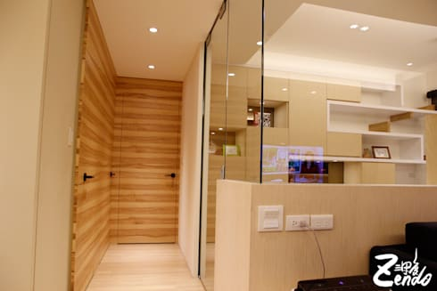 北歐‧小清新:  走廊 & 玄關 by Zendo 深度空間設計