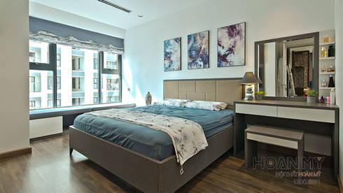 Bàn trang điểm phòng ngủ đẹp:   by Thương hiệu Nội Thất Hoàn Mỹ