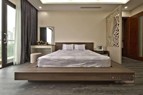 Bàn trang điểm phòng ngủ đơn giản:   by Thương hiệu Nội Thất Hoàn Mỹ