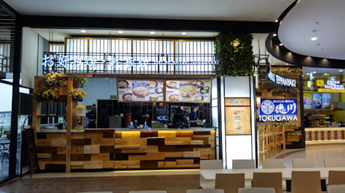 Japanese Resto:   by Nuansa Studio Architect