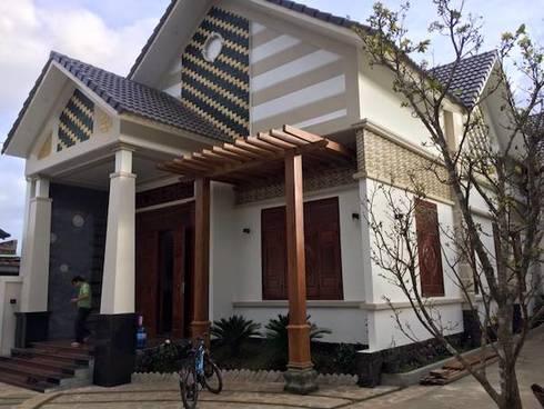 Công trình biệt thự 1 tầng đẹp ở Gia Lai:   by Việt Architect Group