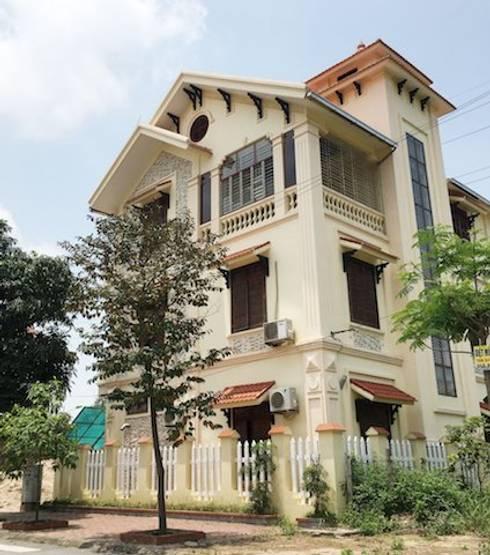 Những thiết kế nhà, biệt thự mái dốc đẹp ấn tượng nhất hiện nay:   by Việt Architect Group