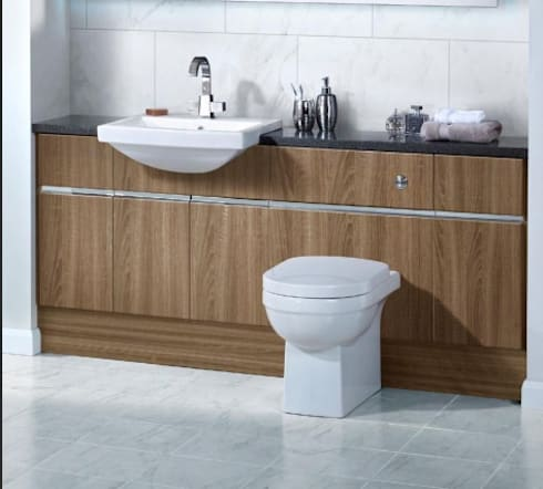 Luxury Bathroom Furniture: modern Bathroom by Utopia Furniture