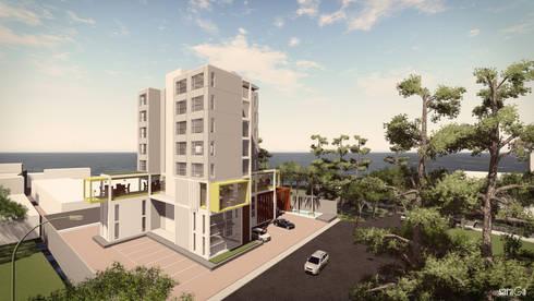 Hotel Jepara 2:   by SARAGA Studio Arsitektur