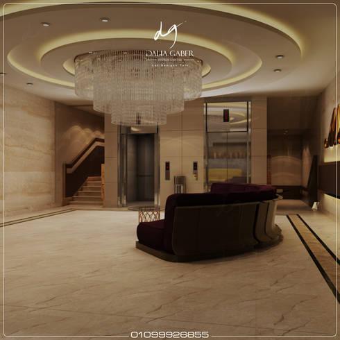 Hotel Corridor  by Dalia Gaber :  تصميم مساحات داخلية تنفيذ DeZign center office by Dalia Gaber