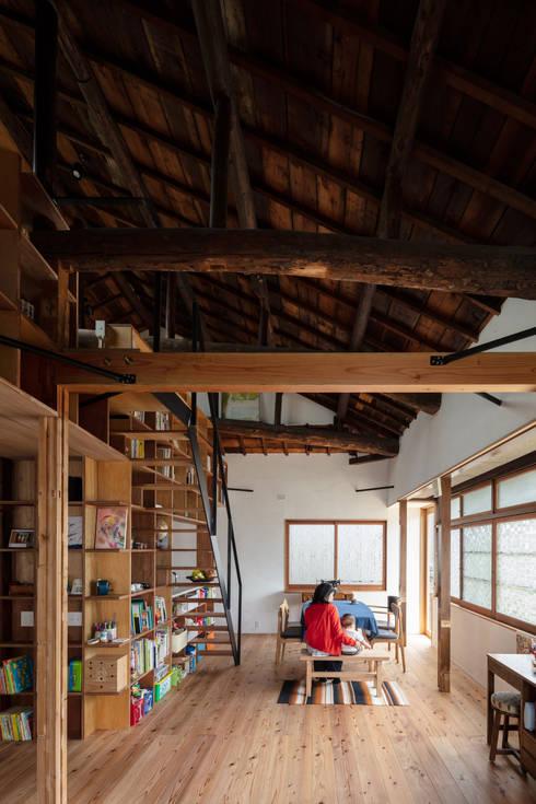 神戸大倉山の家: エイチ・アンド一級建築士事務所 H& Architects & Associatesが手掛けたダイニングです。