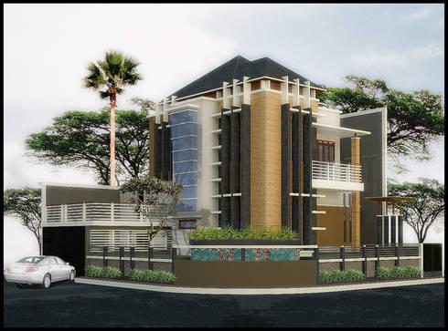 Rumah Tinggal Jl. Sulaksana Antapani Bandung:   by SARAGA Studio Arsitektur