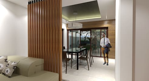 Major renovation and expansion project in Talisay City - Dining area: modern Dining room by Architecture Creates Your Environment Design Studio