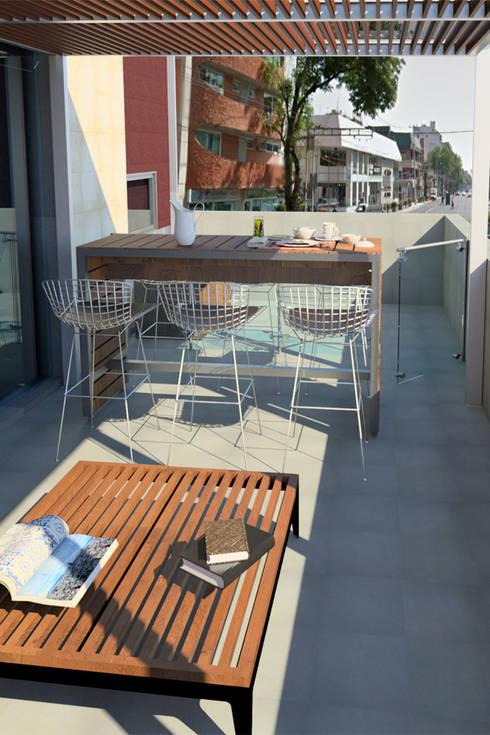 Vista Terraza: Terrazas de estilo  por eleganty