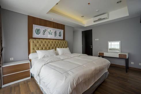 Apartemen Springhill:  Kamar Tidur by Urbano Livings