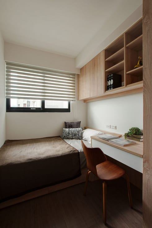 拼貼旅居:  臥室 by 御見設計企業有限公司