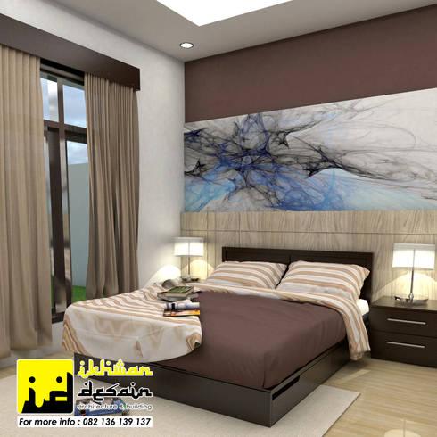 Interior Rumah Dinas:  Kamar Tidur by Ikhwan desain