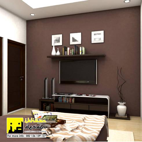 Desain Interior:  Kamar Tidur by Ikhwan desain