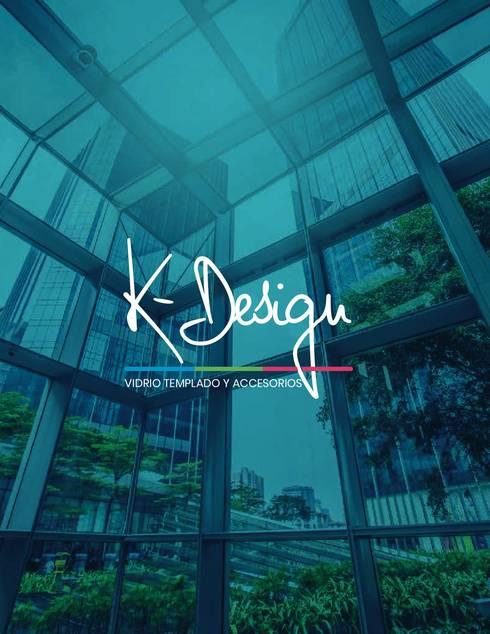 Fabricamos todo tipo de soluciones en vidrio templado:  de estilo  por .K-Design arquitectura y diseño interior
