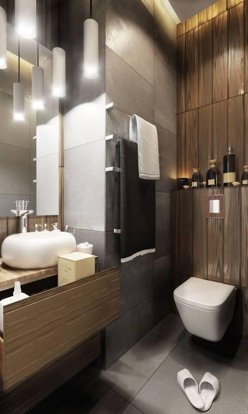 Projekty,  Łazienka zaprojektowane przez Rerooms
