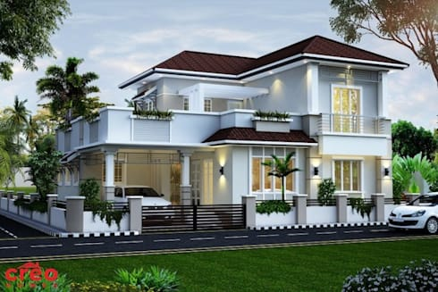 Thiết kế Biệt thự vườn đẹp :   by Công ty thiết kế biệt thự đẹp VAG