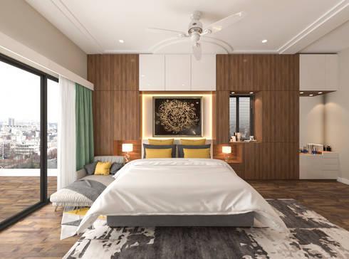 modern Bedroom by Samanta's Studio