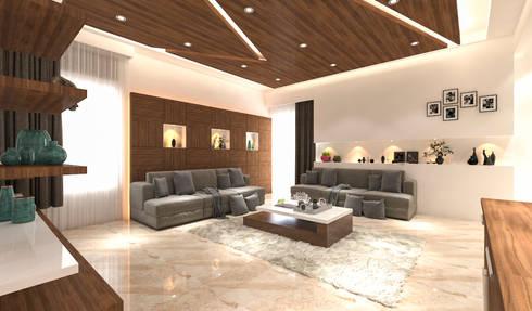 modern Living room by Samanta's Studio