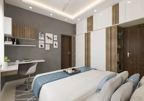 modern Bedroom by Samanta's Studio