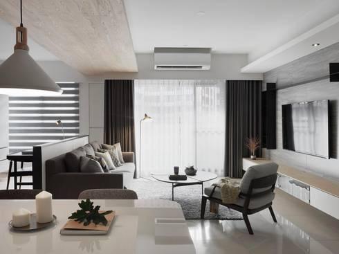 砌 禾:  客廳 by 御見設計企業有限公司