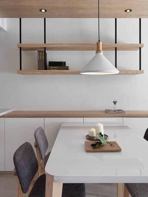 砌 禾:  餐廳 by 御見設計企業有限公司