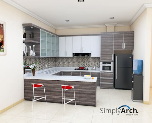 modern Kitchen by Simply Arch.