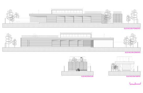 Restaurant Algarrobo:  de estilo  por m2 estudio arquitectos