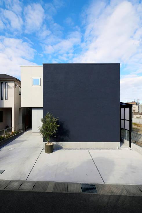 外観: タイコーアーキテクトが手掛けた一戸建て住宅です。
