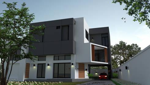 Prin House:   by Pilaster Studio Design