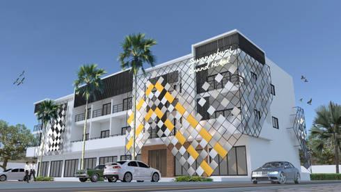 Suwanaphumi Grand Hotel:   by Pilaster Studio Design