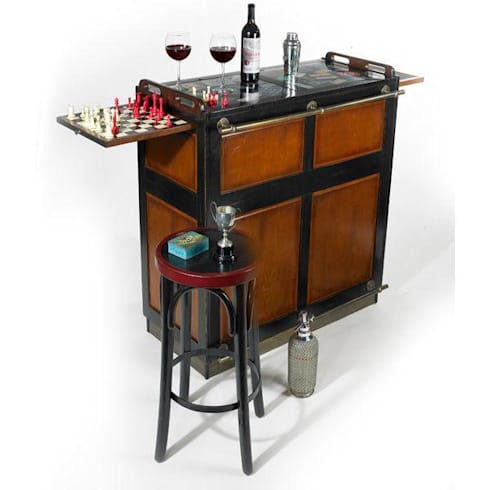 Understanding The Use & Importance of Wine Cooler Racks for Outdoor Home Bars: modern Wine cellar by Perfect Home Bars