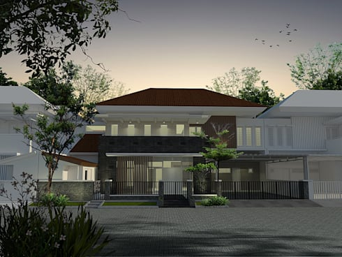 Classic Residential:  Rumah by CV Leilinor Architect