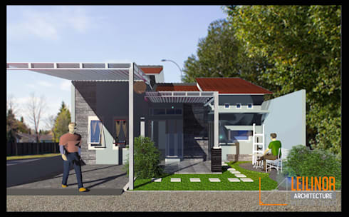 minimalistic Houses by CV Leilinor Architect