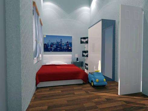 minimalistic Bedroom by CV Leilinor Architect